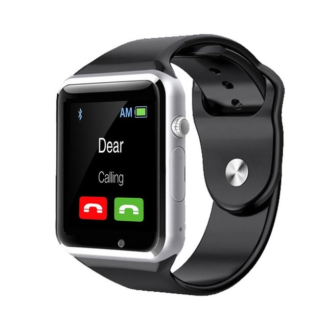 Bluetooth Smart Watch Sports SmartWatch 1.54'' Display Anti-Lost for Android IOS Phone Wrist watch 2.0Mp Camera Support TF Card