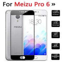 For Meizu Professional 6 Display Protector 9H 3D Tempered glass Movie for Meizu Pro6 Explosion Proof Protecting Movie Guard Full Cowl Case
