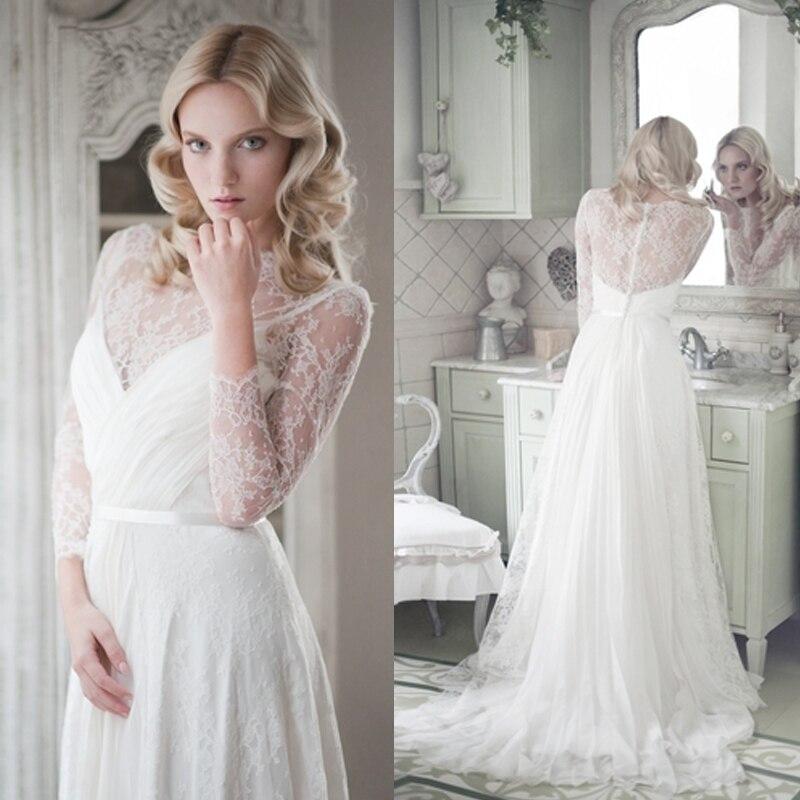 Aliexpress.com : Buy Romantic White Bohemian Bridal Wedding ...
