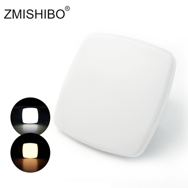 ZMISHIBO Modern Style Super Bright Mini LED Ceiling Lamp Cabinet Light 220V-240V 15W For balcony Screw Fixed Lighting Fixture