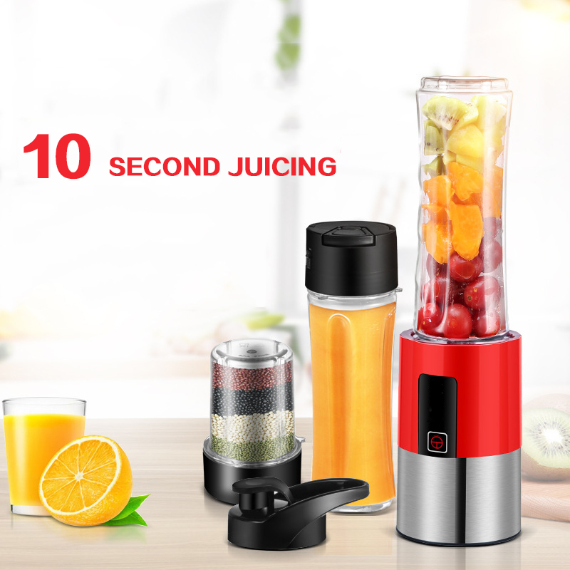 цена на 3 In 1 Vacuum Portable Juicer Household Multi-Function Mince, Food Machine Household Electrical Appliances D138