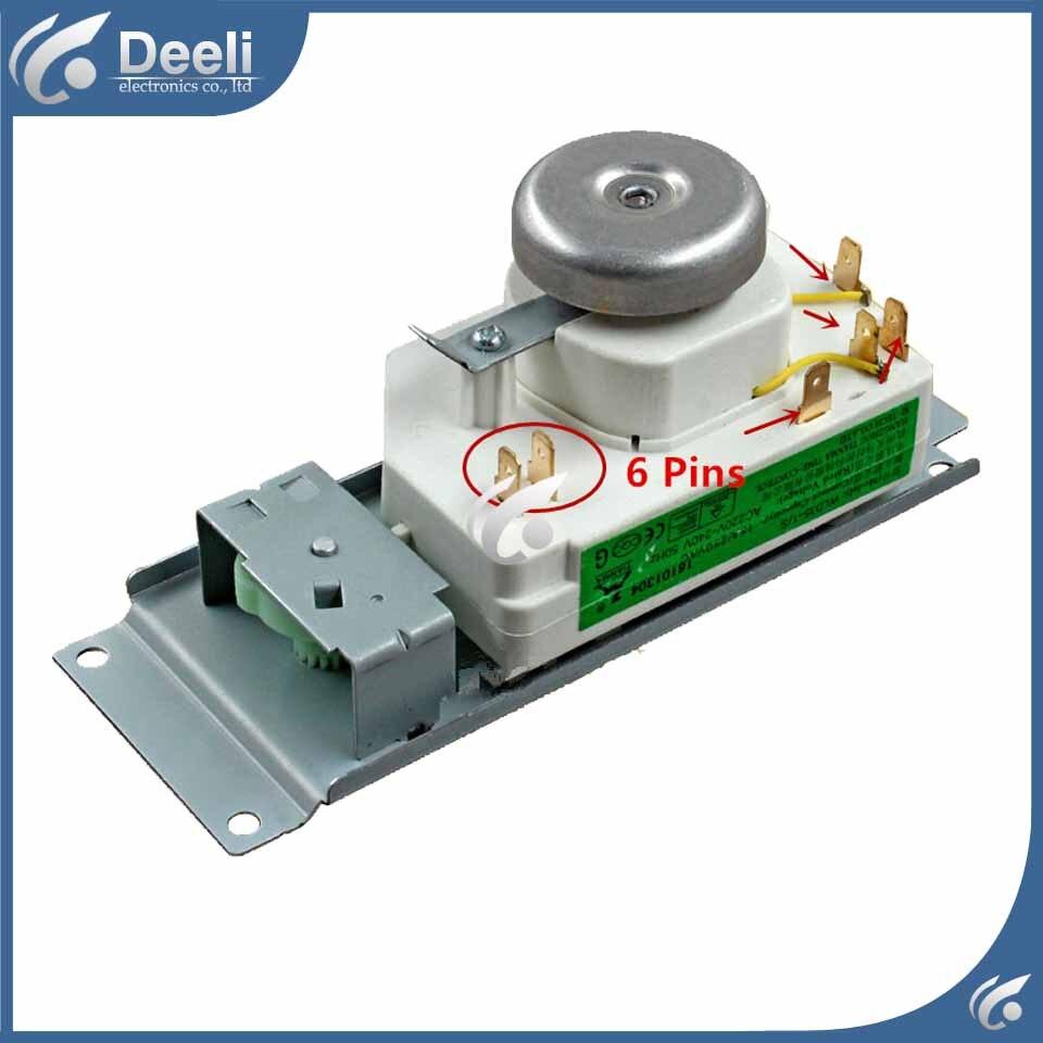 1 шт. микроволновая печь интимные аксессуары вставить переключатель таймер микроволновой печи 6 шпильки WLD35-1/S WLD35-2/S хорошие рабочие