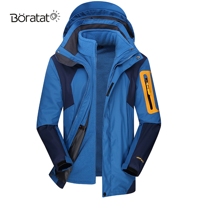 Ski Jacket Men Ski Suit Thermal Warmth Skiing Snowboarding Winter Outdoor Hooded Windproof Size Sports Women