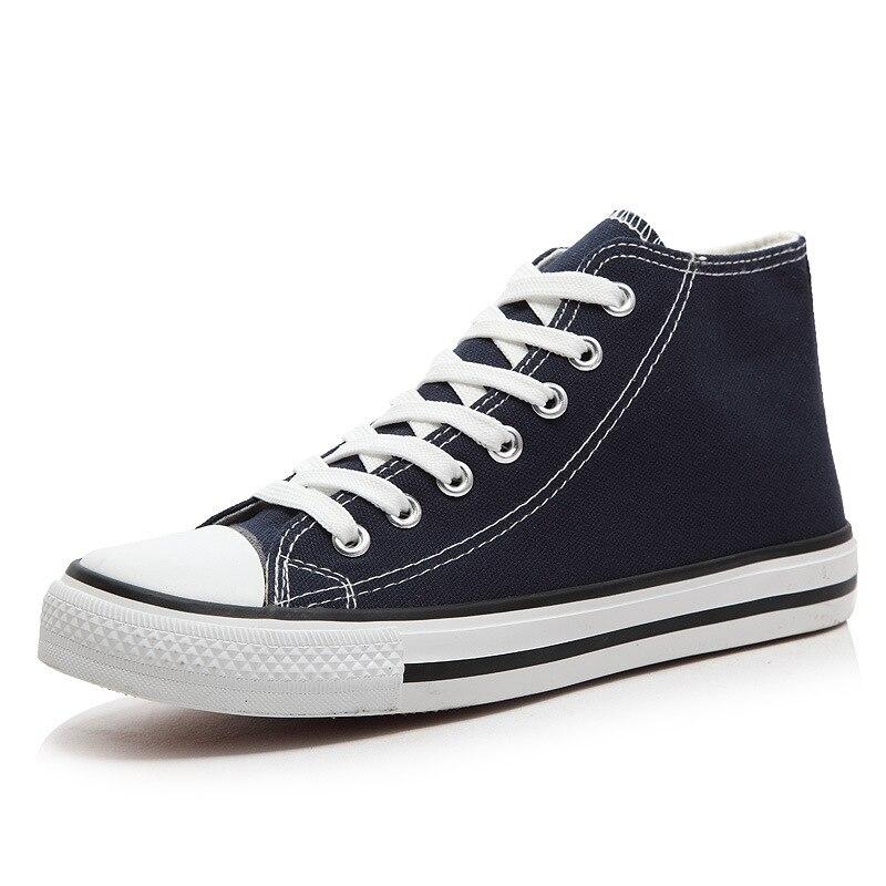גברים בד נעלי מזדמנים נעלי פלטפורמת אוהבי יוניסקס סניקרס לגפר שטוח עם גבוהה פה אביב סתיו חורף באיכות גבוהה