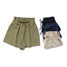 2019 Hot Women Shorts Sport Summer Girls slim shorts Cotton Elastic New Arrive fashion ArmyGreen Street tooling trend fashi