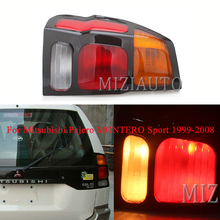 Left/Right Rear Tail Lights For Mitsubishi Pajero MONTERO Sport 1999-2008 Warning Light Brake Light turn signal taillights liandlee car tracing cauda laser light for mitsubishi pajero sport pajero dark 2008 2015 anti fog lamps rear lights