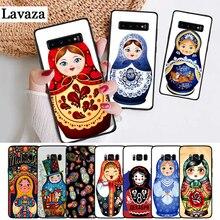 Lavaza Russian matryoshka Dolls Coque Silicone Case for Samsung S6 Edge S7 S8 Plus S9 S10 S10e Note 8 9 10 M10 M20 M30 M40