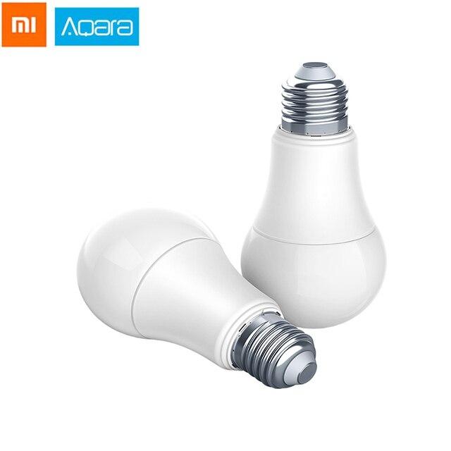 Xiaomi Aqara 9 W E27 2700 K-6500 K 806lum Thông Minh Màu Trắng Bóng Đèn LED Bulb Ánh Sáng Làm Việc Với Nhà bộ Và Mijia Ứng Dụng