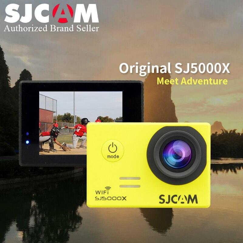 SJCAM SJ5000X caméra d'action Elite WiFi 4 K 24fps 2 K 30fps Gyro sport DV 2.0 LCD NTK96660 sport étanche DV