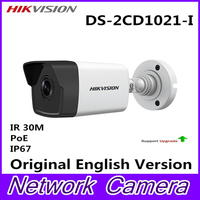 POE Bullet DS 2CD1021 I IP Camera Outdoor Day Night Vision Security Camera Alarm System For