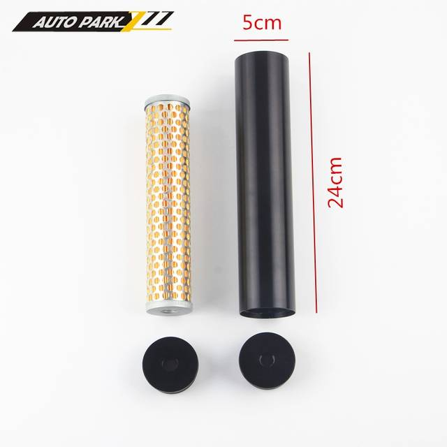 US $12 16 5% OFF|Billet Aluminum Fuel Filter Turbo Air Filter for Napa 4003  Wix 24003 1/2 28 ff07-in Fuel Filters from Automobiles & Motorcycles on