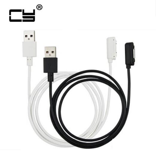 Magnetic Fast Charging USB Cable Magnet Led Metal Charger Adapter For SONY Xperia Z3 Z2 Z1 Mini Compact Z2 Table Z3 Tablet protective pc tpu bumper frame for sony xperia z1 compact mini black yellow href