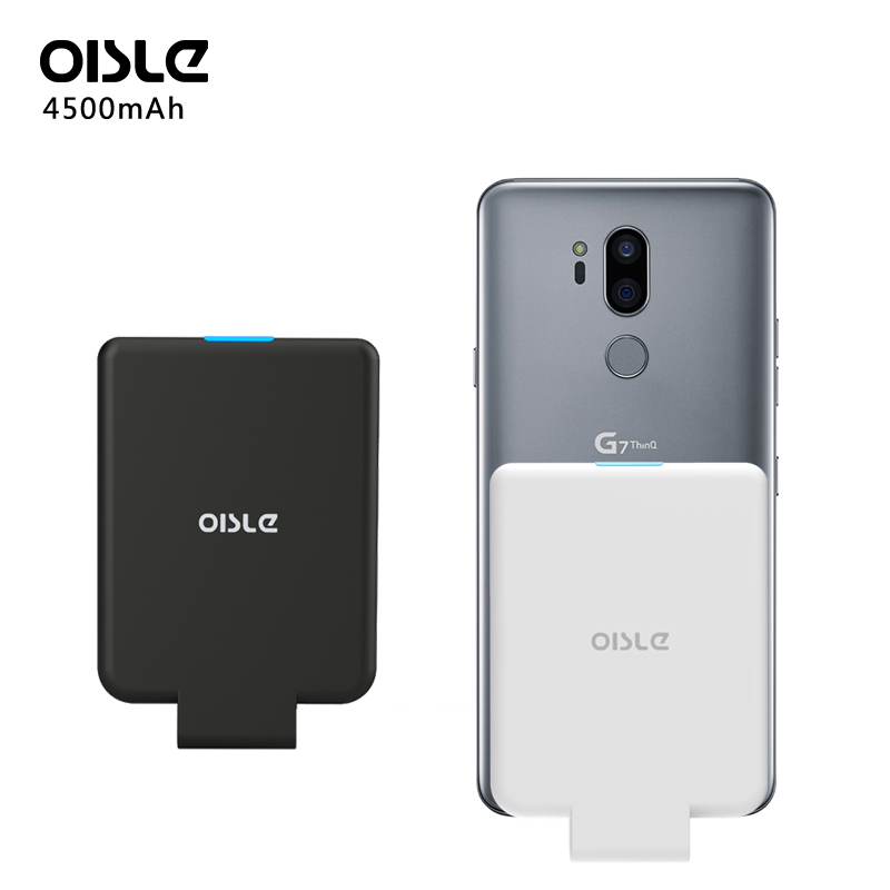low priced ecd08 a2587 4500mAh Slim Battery Charger Case For LG G7 ThinQ / G7 plus G7+ External  Pack Backup Power Bank Case Portable Type C Charger