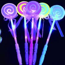 Glow stick Neon Party Bracelets Necklace Glow in the Dark Neon Sticks Christmas Party Supplies LED Lollipop sticks 20pcs christmas party supplies colorful glow sticks