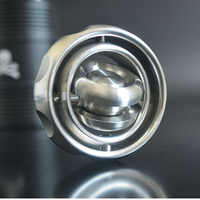 Metal Gyro Fingertip Gyro Decompression Toy Rotating Balance Black Technology