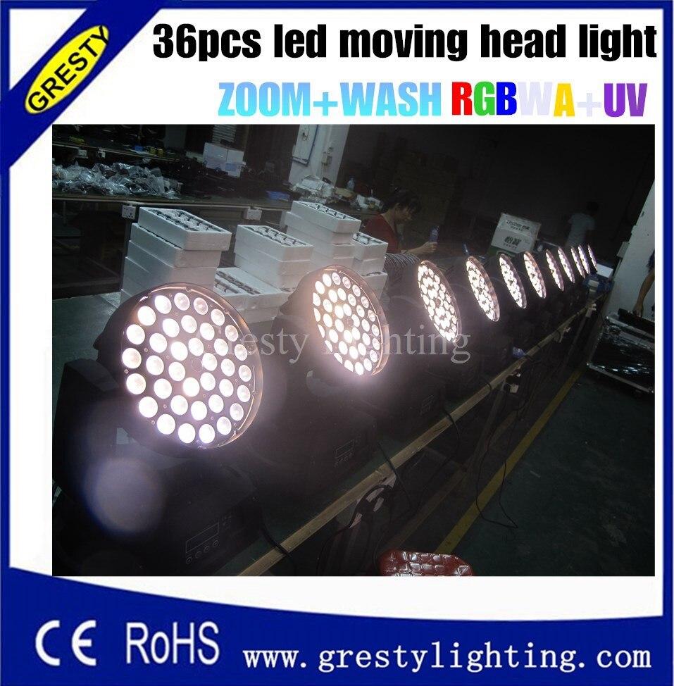 Led Moving Head Wash Wash Light 36x18w Edison High Brightness Leds - Կոմերցիոն լուսավորություն - Լուսանկար 3
