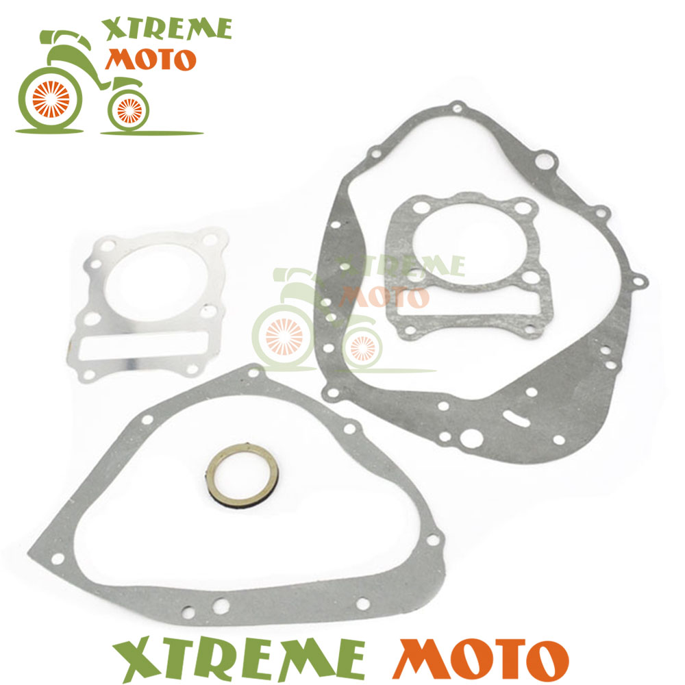 New High Quality Motorcycle Complete Engine Crankcase Cover Cylinder Gasket Kits Set For Suzuki <font><b>DR</b></font> <font><b>200</b></font> SE DR200 DR200SE 96-13 image