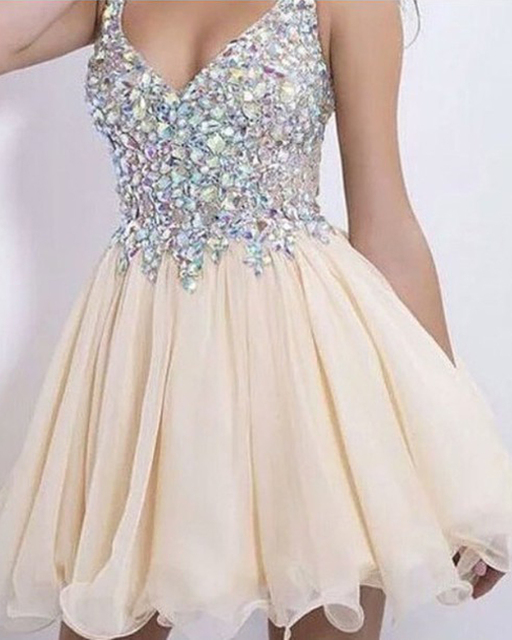 Unique White Rhinestone Short Prom Dresses 2016 Sexy Backless Short Graduation Dresses Lovely Sweetheart Party Cocktail Dresses