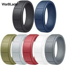 Nieuwe Food Grade Fda Siliconen Ringen Voor Mannen Wedding Elastiekjes Hypoallergeen Flexibele Sport Antibacteriële Siliconen Vinger Ring