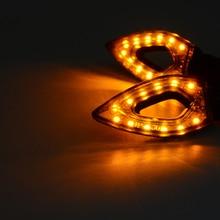 Turn Signal Indicators Lights lamp Fender License Plate Holder