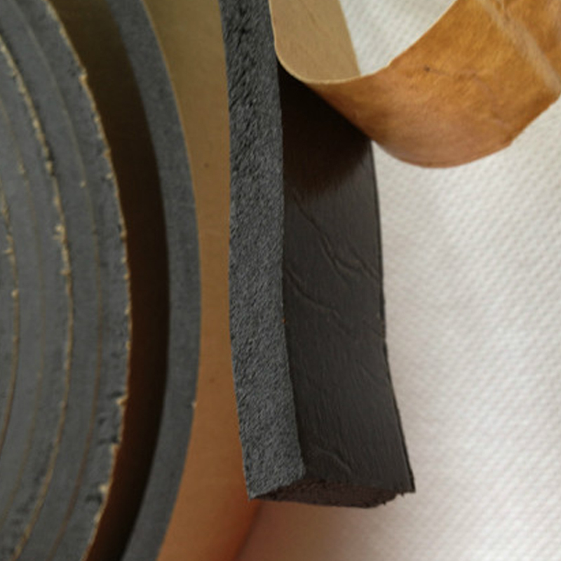 Single Eva Foam Tape Door Window Rubber Seal Strip Roll