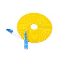 30m LC to SC UPC Fiber Patch Cord,Simplex 2.0mm PVC G657A Fiber Patchcord, Optical Jumper,