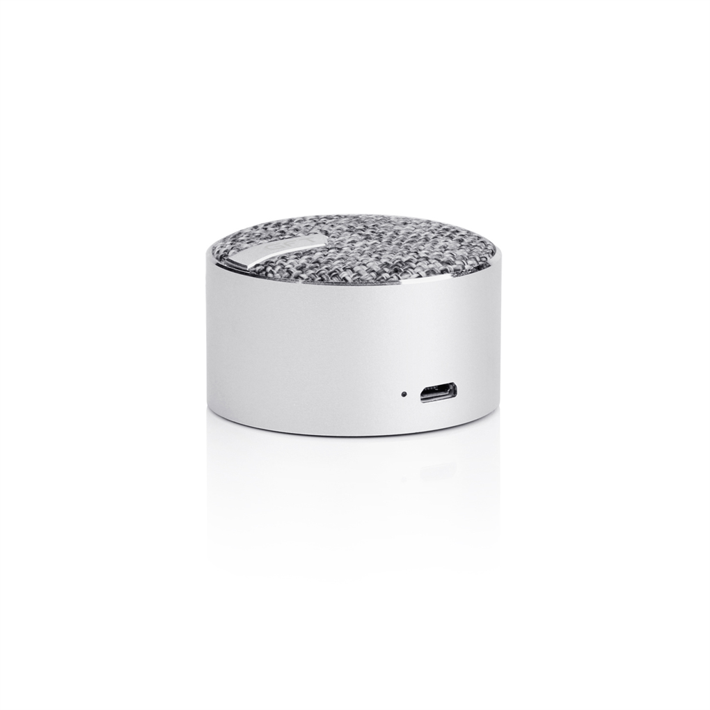 Universal Waterproof Portable Speaker Mini Travel Bluetooth Wireless Loudspeaker Gofreetech USB 8H Playing Time Silver