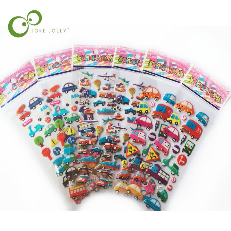 Just Hot Sell 5 Pcs Special Toys Stickers Scrapbooking Bubble Puffy Stickers Kawaii Fruits Strawberry Kids Children Free Shipping Yyy Street Price Classic Toys