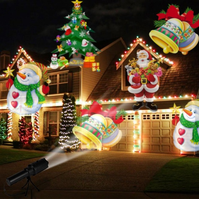 OurWarm New Year's Eve Projector Film Lights Christmas Decorations for Home Outdoor  Christmas Lights Decoration New - US $16.71 35% OFF|OurWarm New Year's Eve Projector Film Lights Christmas  Decorations For Home Outdoor Christmas Lights Decoration New Year 2018-in
