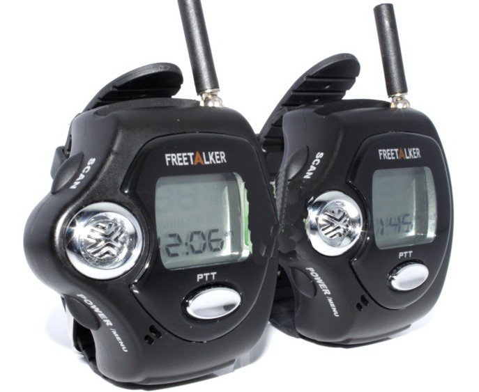 Two Way Radio Walkie Talkie Wrist Watch Style 2pcs