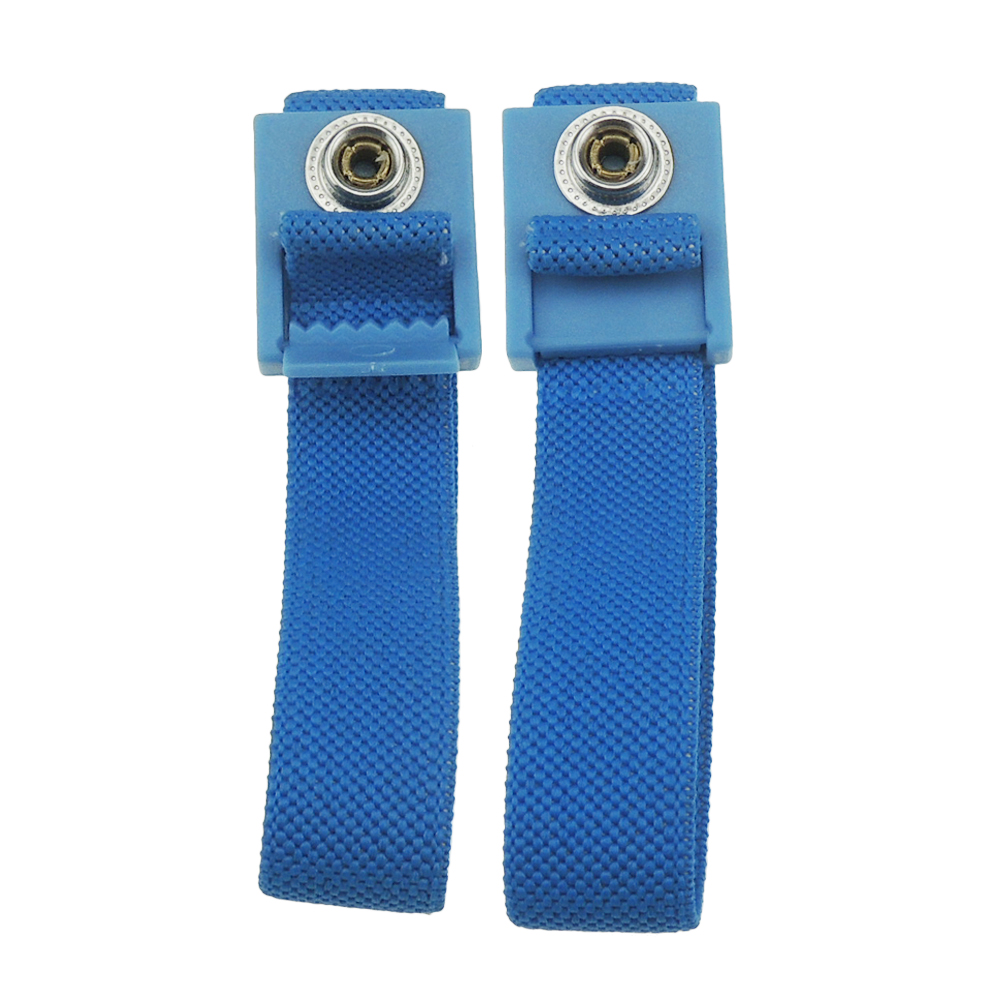 ESD Wrist Strap Fabric High Quality ABS Anti allergic Wrist Band Strap With 1.8meter Earthing Ground Antistatic Wrist Strap 2