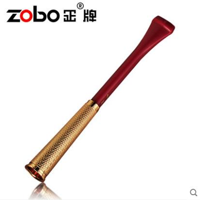 Luxury Long Type Smoking Pipes Super Cleaning Reusable Tobacco Cigarette Filter Reduce Tar Holder Metal Tobacco Pipes Filter