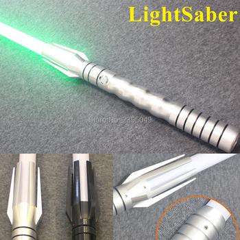 New 8 Types 1 Pcs LED Lightsaber With Sound Brilliant Light Luke Black Series Skywalker Lightsaber Blue Vader Sword Cosplay Toy