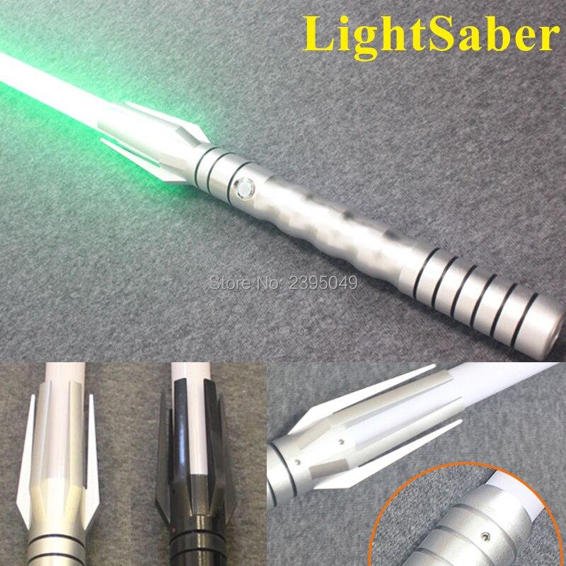 Nouveau 8 Types 1 pièces LED sabre laser avec son brillant lumière Luke série noire Skywalker sabre laser bleu vador épée Cosplay jouet