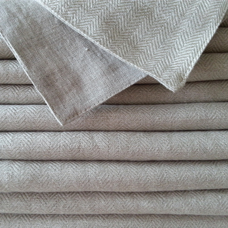 100% Linen Blanket Baby Children AB Double Decker Linen Jacquard Weave Blanket Car Sofa  ...