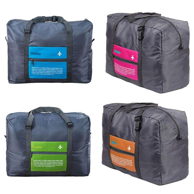 Sports Travel Bag Large Capacity Bag Women Canvas Folding Bag Women Luggage Travel Handbags
