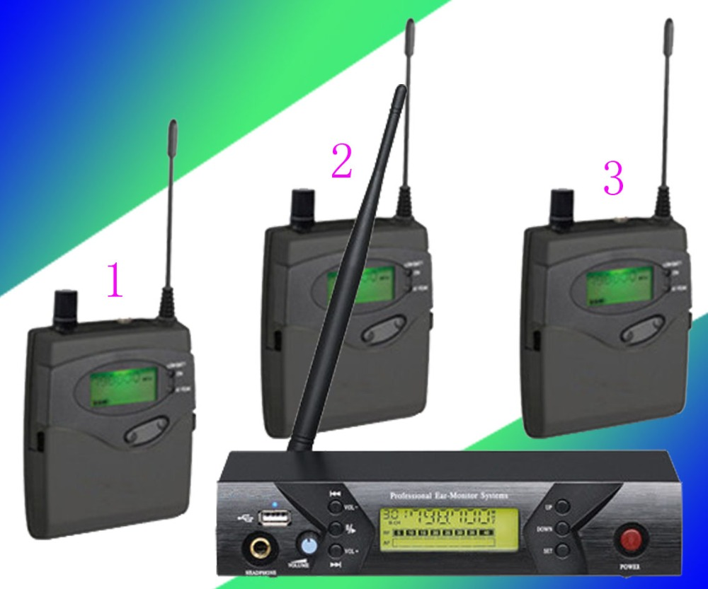 stage of wireless monitoring equipment font b TV b font show wireless headset teaching high version