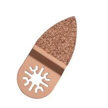 Пальчиковый цементированный карбид, Осциллирующий Мультитул, пильный диск, электроинструменты для резки дерева и металла Multimaster Fein Dremel