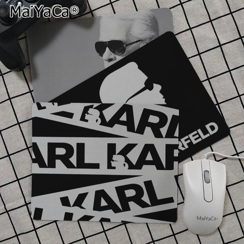 MaiYaCa Boy Gift Pad karl lagerfeld Customized laptop Gaming mouse pad Top Selling Wholesale Gaming Pad mouse in Mouse Pads from Computer Office