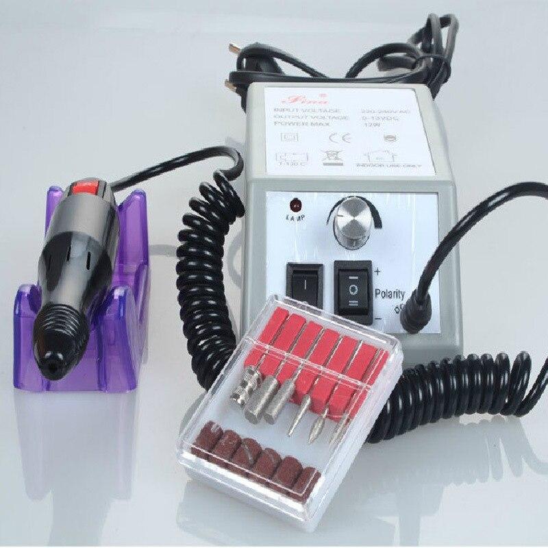 Manicure & Pedicure set 20000 RPM electric mill machine manicure set Electronic nail file nail polishes machine Nail sander