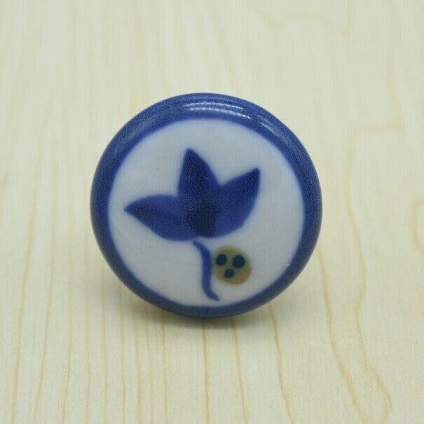 diameter 38mm children room ceramic knob ,white,blue,ceramic drawer cabinet wardrobe dresser furniture handles