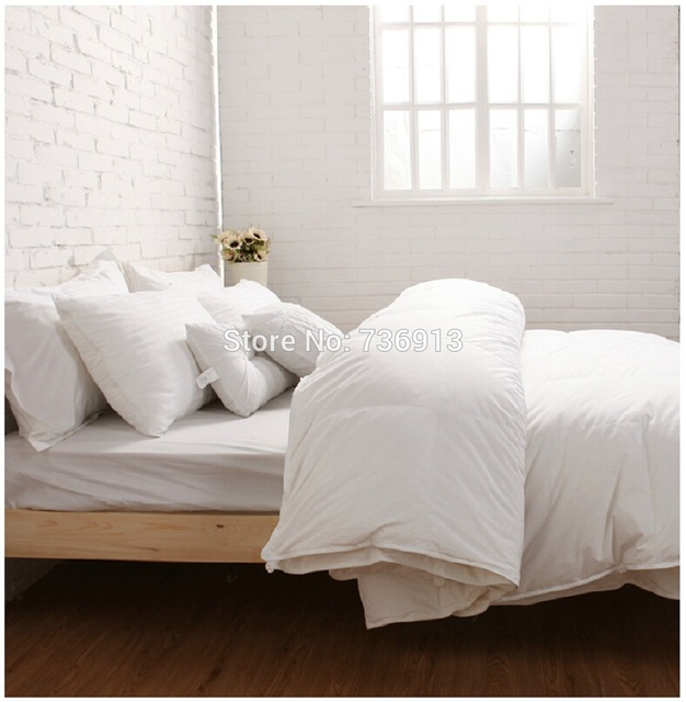 380gsm 95 european goose down duvet doona quilt blanket comforter king queen full twin or make any size and weight