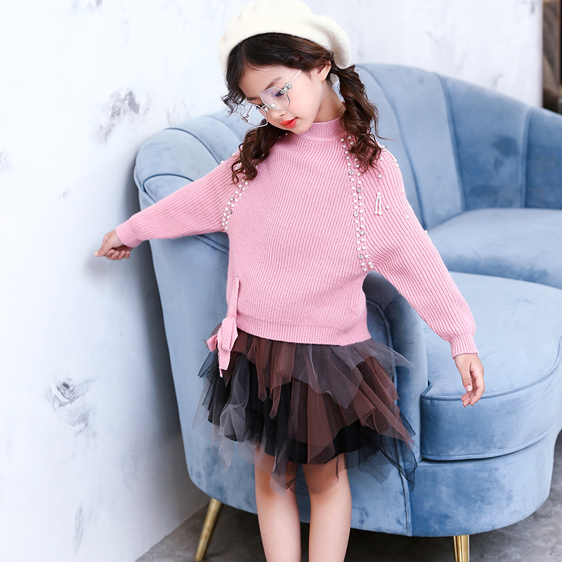 winter autumn casual solid bow beading kids girl sweaters o-neck Pullover girl full sweater 6 8 10 12 14 year girl clothingwinter autumn casual solid bow beading kids girl sweaters o-neck Pullover girl full sweater 6 8 10 12 14 year girl clothing