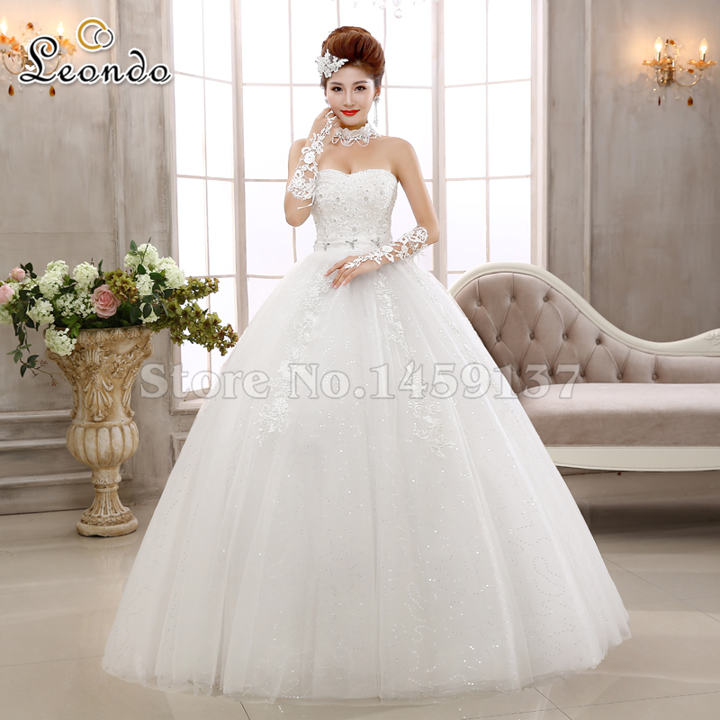 Interesting Wow Bridal Ivory Ball Gown Wedding Dresses Floor Length Tulle And Lace Sweetheart Elegant Women Dress With