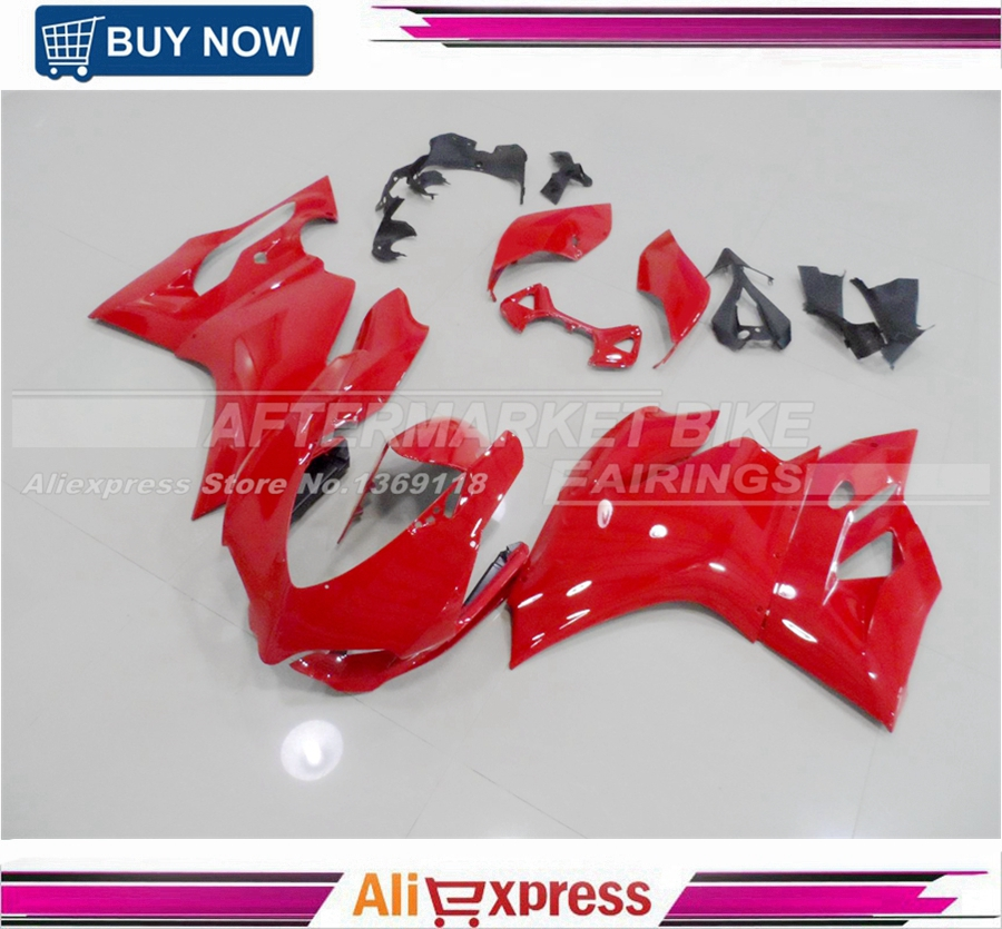 Original Red Durable USE ABS Plastic Bodyworks For Ducati  Panigale 1199 All Years  Injection Motorcycle Complete Fairings Kits motorcycle tail tidy fender eliminator registration license plate holder bracket led light for ducati panigale 899 free shipping