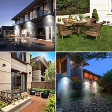 16 LED Solar light Bulb Outdoor Garden Lamp