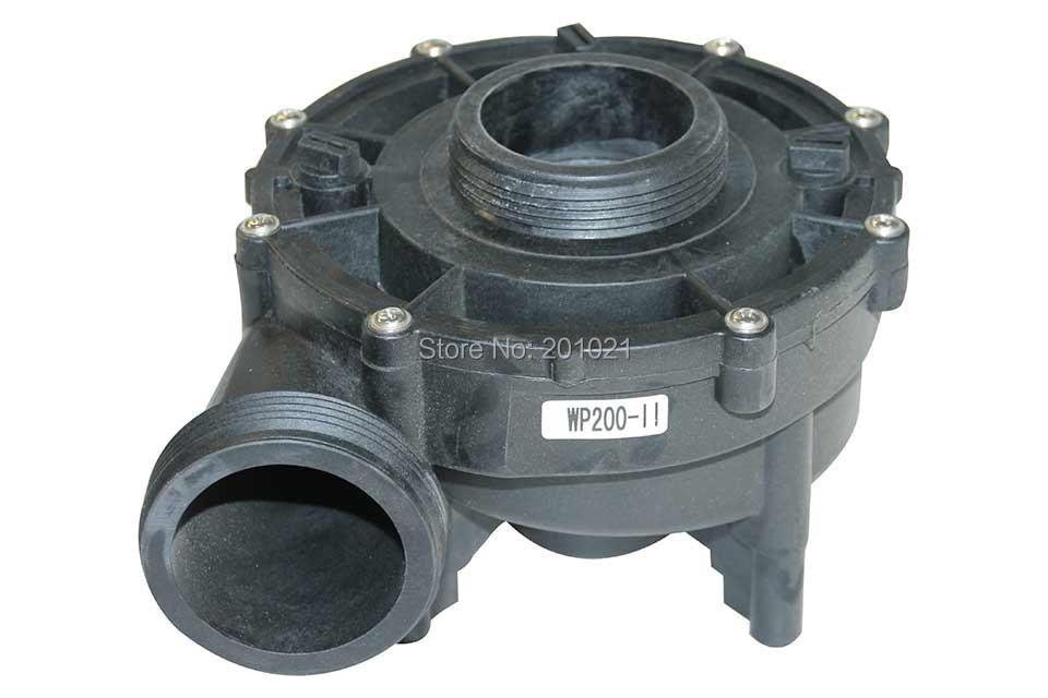 LX WP200-II Complete Pump Wet End part Jazzi spa wet end ,including pump body,pump cover,impeller,seal lx wp200 ii pump wet end cover only
