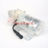 DC 12V 70W Food Grade Diaphragm Water Pump Self Priming Booster Pump Automatic Switch 300L H