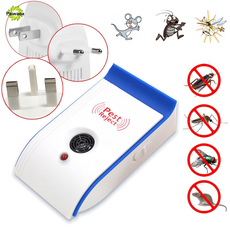 Enhanced Version Electronic Health Ultrasonic Anti Mosquito Insect Repeller Mouse Cockroach Pest Reject Repellent EU/US/UK Plug