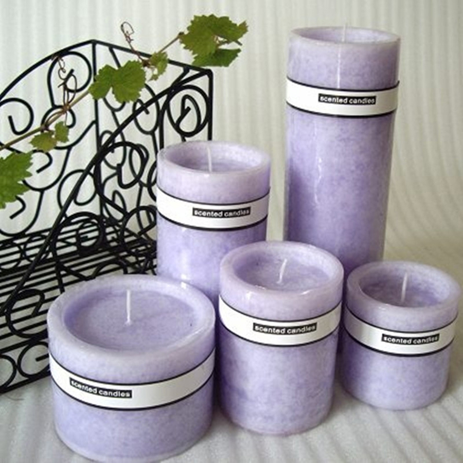 Online buy wholesale lavender scented candles from china for Candele on line